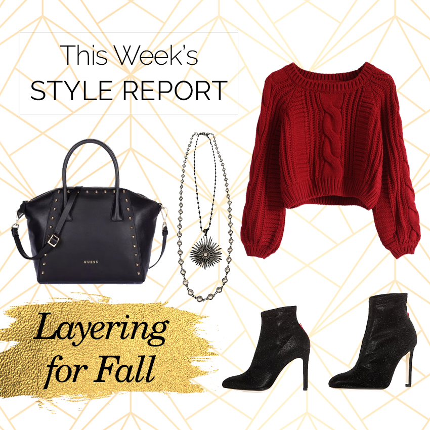 Style Report: Layering Necklaces for Fall