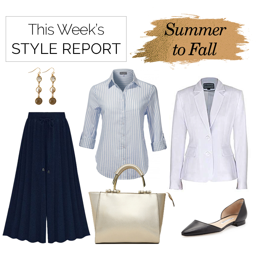 Style Report: Take Your Wardrobe From Summer to Fall