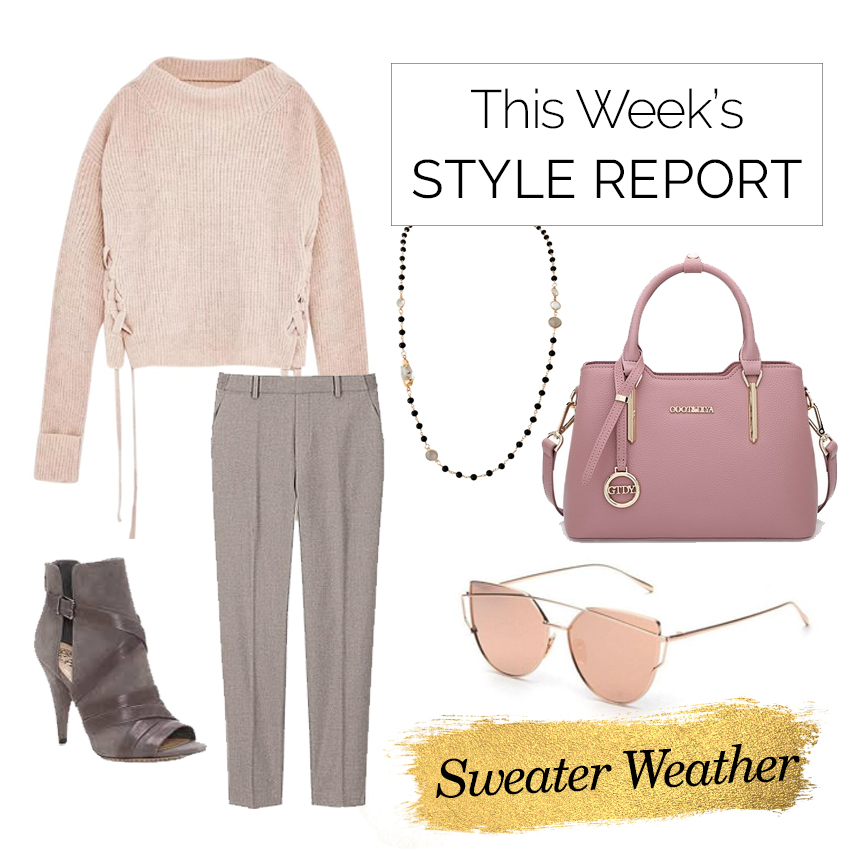 Style Report: Sweater Weather Outfit for Fall
