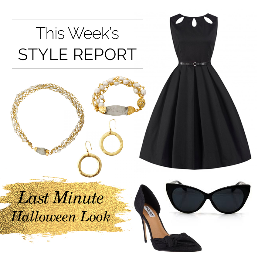 Style Report: Last Minute Halloween Outfit